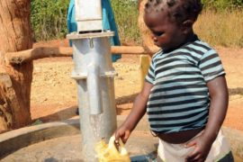 Drop in the Bucket Uganda water well Obangin village 39