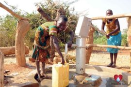 Drop in the Bucket Uganda water well Obangin village 43