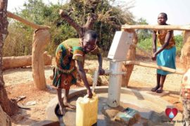 Drop in the Bucket Uganda water well Obangin village 46