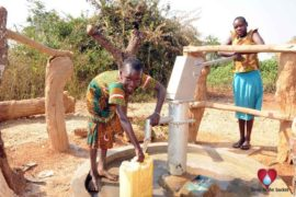 Drop in the Bucket Uganda water well Obangin village 47