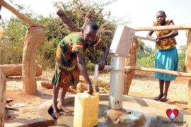 Drop in the Bucket Uganda water well Obangin village 48