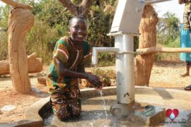 Drop in the Bucket Uganda water well Obangin village 54