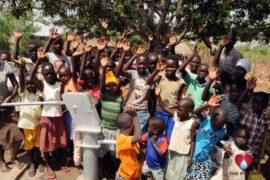 Drop in the Bucket Uganda water well Okidi village 62