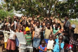 Drop in the Bucket Uganda water well Okidi village 64