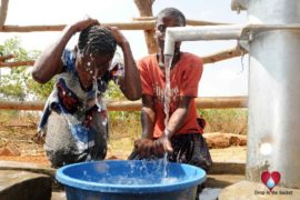 Drop in the Bucket Uganda water well Aisin village 06