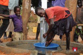 Drop in the Bucket Uganda water well Aisin village 13