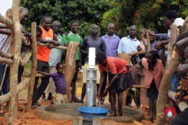 Drop in the Bucket Uganda water well Aisin village 14