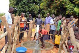 Drop in the Bucket Uganda water well Aisin village 15