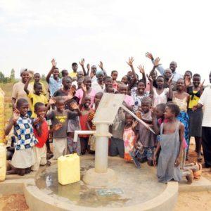Drop in the Bucket Africa water wells Uganda Bukedea Katkwi Aputon borehole
