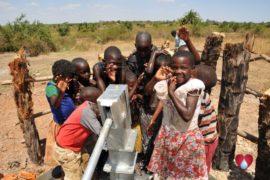 Drop in the Bucket Uganda water well Gwetom village 33