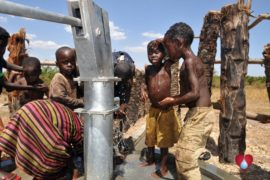 Drop in the Bucket Uganda water well Gwetom village 38