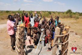 Drop in the Bucket Uganda water well Gwetom village 71