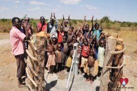 Drop in the Bucket Uganda water well Gwetom village 73