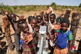 Drop in the Bucket Uganda water well Gwetom village 80