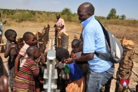 Drop in the Bucket Uganda water well Gwetom village 82