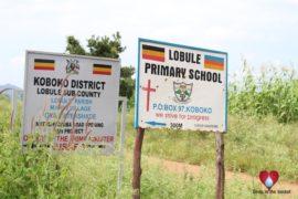 Drop in the Bucket Uganda water well Koboko Lobule Primary School 01