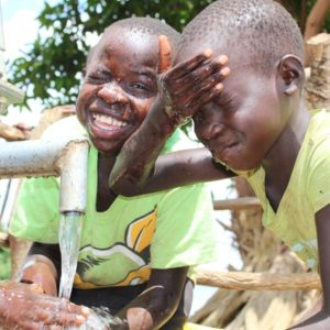 Africa water wells uganda boreholes Drop in the Bucket Kuku Village