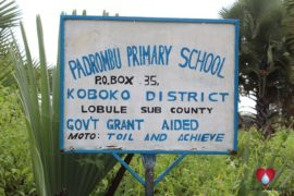 Drop in the Bucket Uganda water wells Padrombu Primary School00