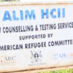 Drop in the Bucket Uganda water well Alim health center borehole00
