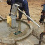 Drop in the Bucket Uganda water well Alim health center borehole01