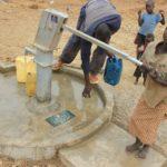 Drop in the Bucket Uganda water well Alim health center borehole02