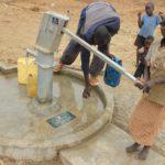 Drop in the Bucket Uganda water well Alim health center borehole03
