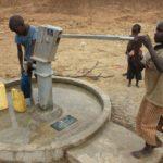 Drop in the Bucket Uganda water well Alim health center borehole04