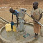 Drop in the Bucket Uganda water well Alim health center borehole06