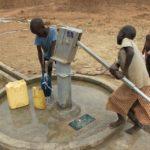 Drop in the Bucket Uganda water well Alim health center borehole08
