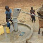 Drop in the Bucket Uganda water well Alim health center borehole10