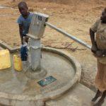 Drop in the Bucket Uganda water well Alim health center borehole11