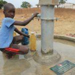 Drop in the Bucket Uganda water well Alim health center borehole13