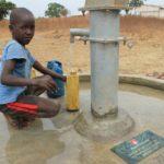 Drop in the Bucket Uganda water well Alim health center borehole14