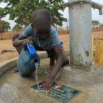 Drop in the Bucket Uganda water well Alim health center borehole18
