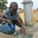 Drop in the Bucket Uganda water well Alim health center borehole20