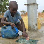 Drop in the Bucket Uganda water well Alim health center borehole21