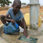 Drop in the Bucket Uganda water well Alim health center borehole22