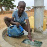 Drop in the Bucket Uganda water well Alim health center borehole23