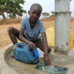 Drop in the Bucket Uganda water well Alim health center borehole24