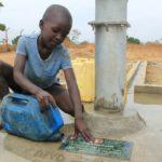 Drop in the Bucket Uganda water well Alim health center borehole25