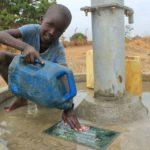 Drop in the Bucket Uganda water well Alim health center borehole27