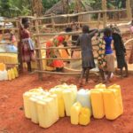 Drop in the Bucket Uganda water well Custom Corner Gulu35