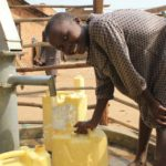 Drop in the Bucket Uganda water well Goan Quarters community borehole07