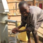 Drop in the Bucket Uganda water well Goan Quarters community borehole11