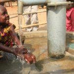 Drop in the Bucket Uganda water well Goan Quarters community borehole13