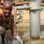 Drop in the Bucket Uganda water well Goan Quarters community borehole15