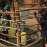 Drop in the Bucket Uganda water well Goan Quarters community borehole17