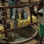 Drop in the Bucket Uganda water well Goan Quarters community borehole20