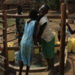 Drop in the Bucket Uganda water well Goan Quarters community borehole22