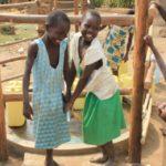 Drop in the Bucket Uganda water well Goan Quarters community borehole23